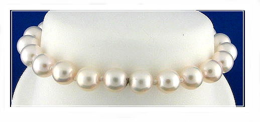 AA Grade 7-7.5MM Japanese Akoya Cultured Pearl Bracelet w/Mystery Clasps, 7 Inches