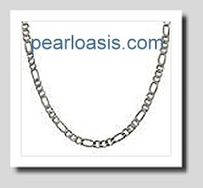 1.8MM Figaro Link Chain 16in 925 Sterling Silver