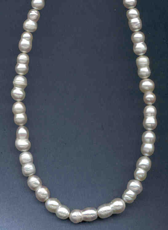 Double Pearl -- Chinese Fresh Water Cultured Pearl