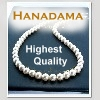Hanadama White Akoya Pearl Necklaces