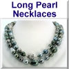 Long Pearl Necklaces